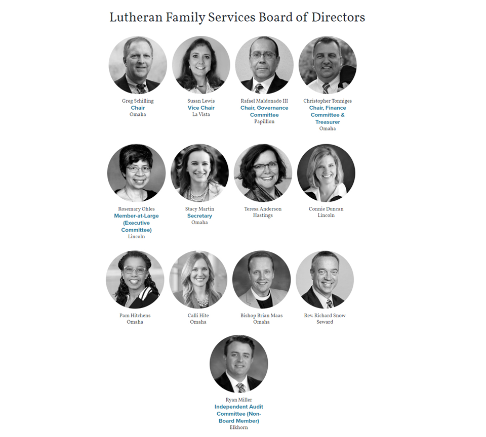 Lutheran Family Services Board of Directors